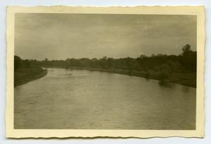 Primary view of object titled '[Photograph of River]'.