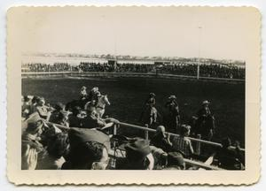 Primary view of object titled '[Photograph of a Rodeo]'.