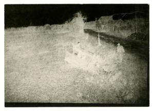 Primary view of object titled '[Overturned Truck in Field]'.
