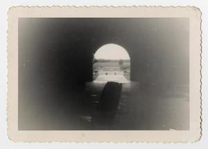 Primary view of object titled '[Photograph of a View through an Archway]'.