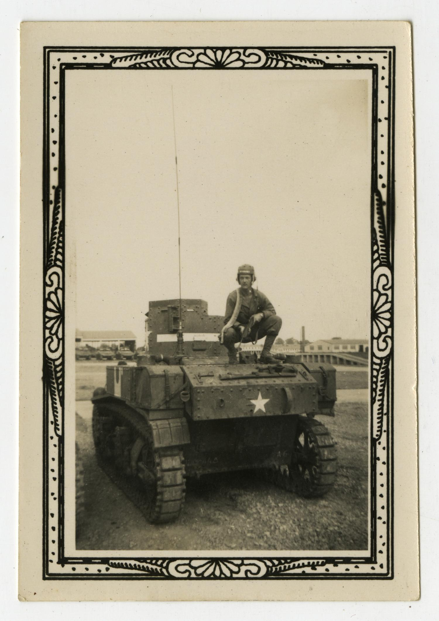 [Man On Tank With Rifle]                                                                                                      [Sequence #]: 1 of 2