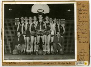 Photograph of 17th AlB Basketball Team