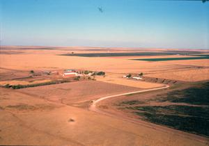 Primary view of object titled '[Farm Home of Bobby Viegel]'.