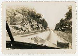 Primary view of object titled '[Road From Passenger's Point of View]'.