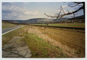 Primary view of [On the Road to Köenigshofen, Germany]