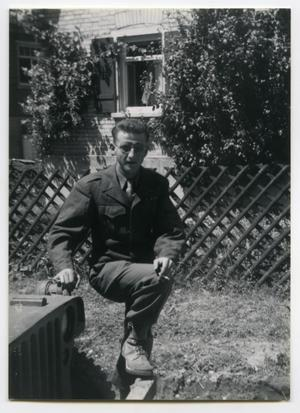 Primary view of object titled '[Photograph of an A/17 AlB Soldier]'.