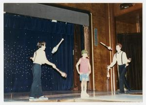 Primary view of object titled '[Photograph of Jugglers]'.