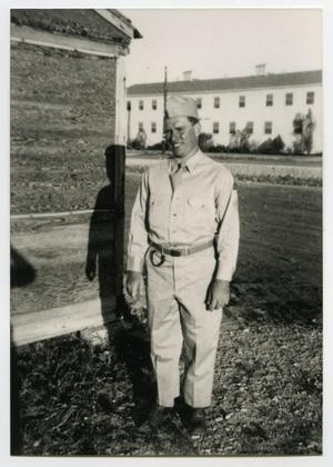 "Primary view of object titled '[Photograph of Clarence ""Flip"" Gardner]'."