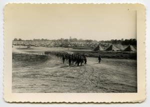 Primary view of [Photograph of Marching Soldiers]