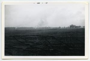Primary view of object titled '[Photograph of a Field]'.
