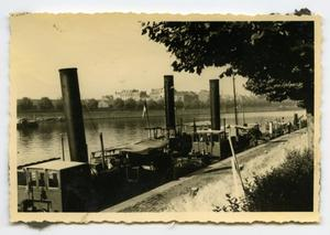 Photograph of Steamboats in River