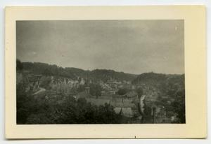 Primary view of object titled '[A View of a Small Village]'.
