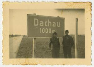 Primary view of object titled '[Dauchau Sign]'.
