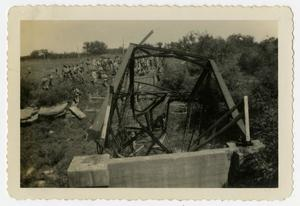 Primary view of object titled '[Wreckage of Bridge]'.