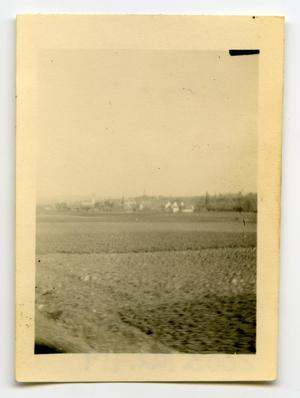 Primary view of object titled '[Photograph of German Farm]'.