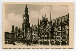 Primary view of object titled '[Photograph of Large Building in Germany]'.