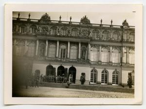 Primary view of object titled '[A Large German Building]'.