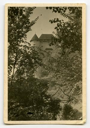 Primary view of object titled '[Photograph of Castle]'.