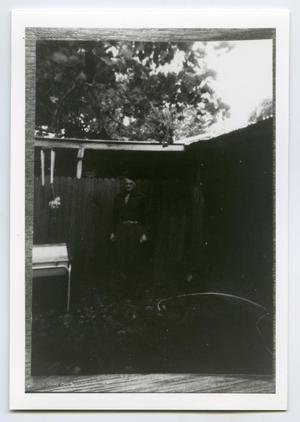 Primary view of object titled '[Photograph of Homer Petross]'.