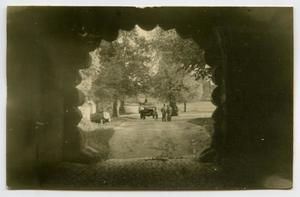 Primary view of object titled '[Looking Through an Arched Tunnel]'.