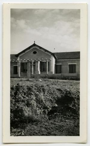 Primary view of object titled '[Photograph of Church]'.
