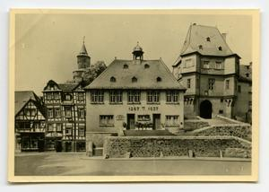 Primary view of object titled '[Photograph of German City Buildings]'.