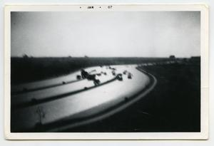 Primary view of object titled '[Photograph of The Autobahn]'.