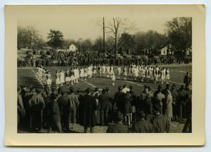 Primary view of object titled '[Photograph of Women on Field]'.