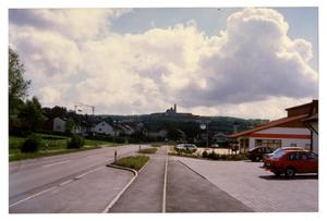 Primary view of object titled '[One Way Road in Germany]'.