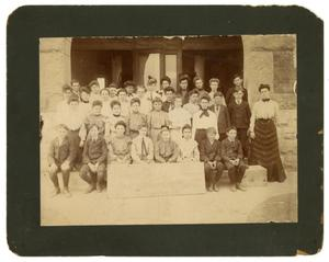 Primary view of object titled '[Photograph of Magnolia Avenue School Class]'.