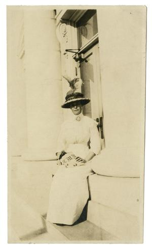 [Photograph of Charlie Mary Noble]