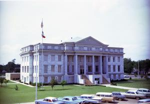 Primary view of object titled '[Deaf Smith County Courthouse]'.