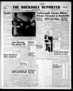 Primary view of object titled 'The Rockdale Reporter and Messenger (Rockdale, Tex.), Vol. 82, No. 28, Ed. 1 Thursday, July 29, 1954'.