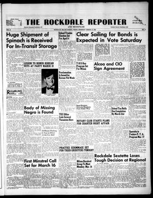 Primary view of object titled 'The Rockdale Reporter and Messenger (Rockdale, Tex.), Vol. 81, No. 08, Ed. 1 Thursday, March 12, 1953'.