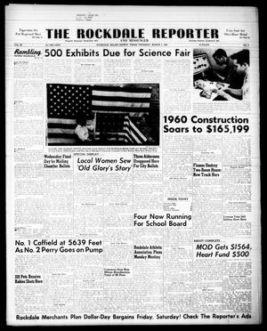 Primary view of object titled 'The Rockdale Reporter and Messenger (Rockdale, Tex.), Vol. 88, No. 08, Ed. 1 Thursday, March 3, 1960'.