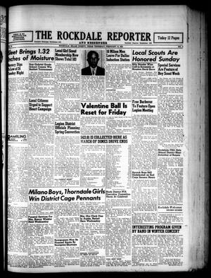 Primary view of object titled 'The Rockdale Reporter and Messenger (Rockdale, Tex.), Vol. 79, No. 4, Ed. 1 Thursday, February 15, 1951'.