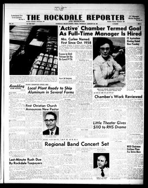 Primary view of object titled 'The Rockdale Reporter and Messenger (Rockdale, Tex.), Vol. 89, No. 03, Ed. 1 Thursday, January 26, 1961'.