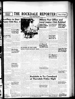 Primary view of object titled 'The Rockdale Reporter and Messenger (Rockdale, Tex.), Vol. 78, No. 38, Ed. 1 Thursday, October 12, 1950'.