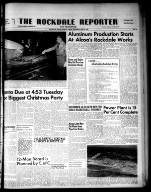 Primary view of object titled 'The Rockdale Reporter and Messenger (Rockdale, Tex.), Vol. 80, No. 45, Ed. 1 Thursday, November 27, 1952'.