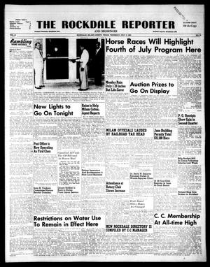 Primary view of object titled 'The Rockdale Reporter and Messenger (Rockdale, Tex.), Vol. 81, No. 24, Ed. 1 Thursday, July 2, 1953'.