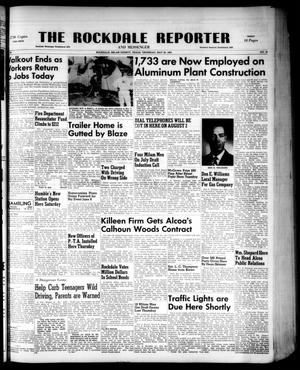 Primary view of object titled 'The Rockdale Reporter and Messenger (Rockdale, Tex.), Vol. 80, No. 18, Ed. 1 Thursday, May 22, 1952'.