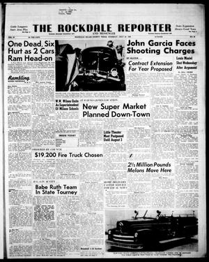 Primary view of object titled 'The Rockdale Reporter and Messenger (Rockdale, Tex.), Vol. 87, No. 28, Ed. 1 Thursday, July 23, 1959'.