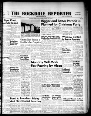 Primary view of object titled 'The Rockdale Reporter and Messenger (Rockdale, Tex.), Vol. 80, No. 44, Ed. 1 Thursday, November 20, 1952'.