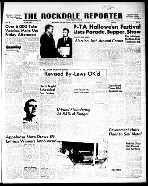 Primary view of object titled 'The Rockdale Reporter and Messenger (Rockdale, Tex.), Vol. 90, No. 42, Ed. 1 Thursday, October 25, 1962'.