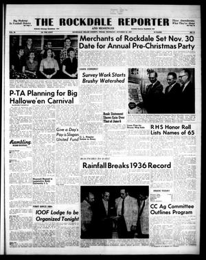 Primary view of object titled 'The Rockdale Reporter and Messenger (Rockdale, Tex.), Vol. 85, No. 41, Ed. 1 Thursday, October 24, 1957'.