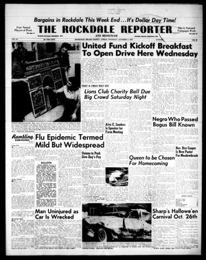 Primary view of object titled 'The Rockdale Reporter and Messenger (Rockdale, Tex.), Vol. 85, No. 38, Ed. 1 Thursday, October 3, 1957'.