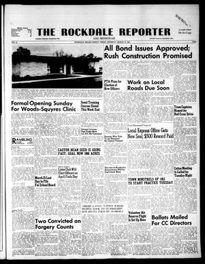 Primary view of object titled 'The Rockdale Reporter and Messenger (Rockdale, Tex.), Vol. 81, No. 09, Ed. 1 Thursday, March 19, 1953'.