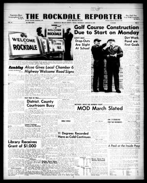 Primary view of object titled 'The Rockdale Reporter and Messenger (Rockdale, Tex.), Vol. 91, No. 03, Ed. 1 Thursday, January 24, 1963'.