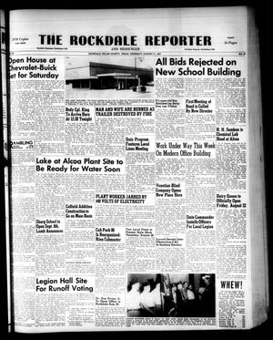 Primary view of object titled 'The Rockdale Reporter and Messenger (Rockdale, Tex.), Vol. 80, No. 31, Ed. 1 Thursday, August 21, 1952'.
