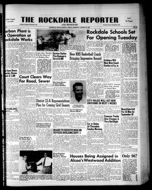 Primary view of object titled 'The Rockdale Reporter and Messenger (Rockdale, Tex.), Vol. 80, No. 32, Ed. 1 Thursday, August 28, 1952'.